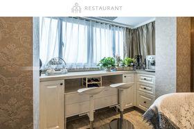 20万以上140平米三室两厅混搭风格餐厅装修图片大全