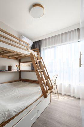 70平米北欧风格儿童房图片
