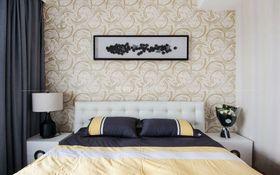 90平米三室一廳現代簡約風格臥室設計圖