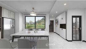 120平米三室兩廳現代簡約風格玄關欣賞圖