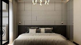 120平米现代简约风格卧室装修图片大全