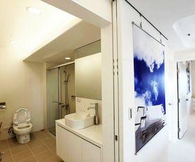 经济型90平米三室一厅现代简约风格卫生间装修案例