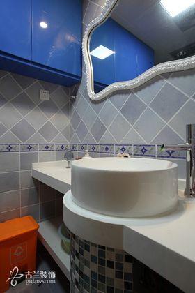 5-10万90平米三室两厅美式风格卫生间效果图