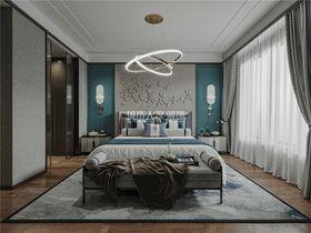 130平米三室两厅新古典风格卧室设计图