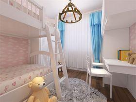 80平米三室一厅现代简约风格儿童房图片