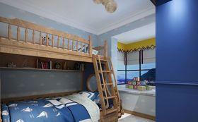 豪华型140平米复式现代简约风格儿童房装修案例