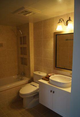 10-15万120平米三室两厅美式风格卫生间装修案例