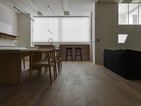 140平米复式日式风格餐厅图