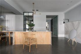 100平米三室一廳現代簡約風格廚房效果圖
