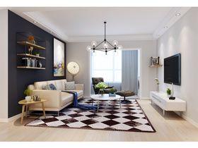90平米三室两厅北欧风格其他区域家具图片