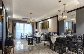 120平米三室两厅中式风格餐厅欣赏图