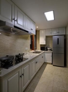经济型100平米三室两厅现代简约风格厨房图片