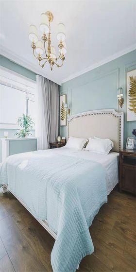 70平米美式风格卧室装修图片大全