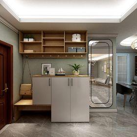 140平米三室两厅现代简约风格玄关效果图