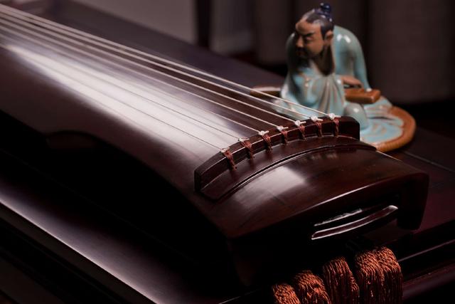 背景 老师 中国 古琴/智润国学琴棋书画的图片