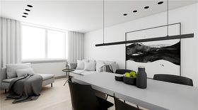 5-10萬140平米四室一廳現代簡約風格餐廳圖片
