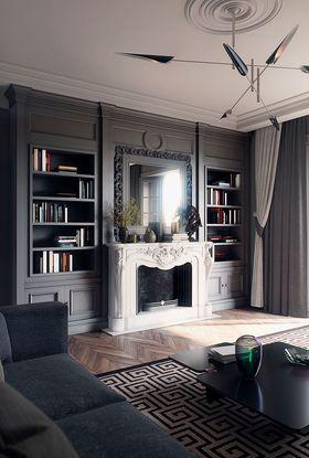 120平米三室一厅欧式风格其他区域装修图片大全