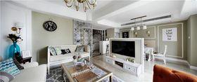 140平米復式美式風格客廳裝修效果圖