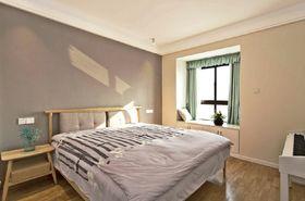 80平米日式风格卧室飘窗装修图片大全
