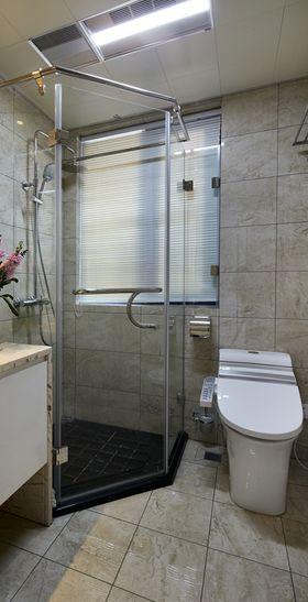 90平米三室两厅现代简约风格卫生间欣赏图