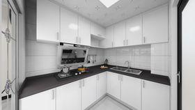 80平米三北欧风格厨房图片大全