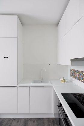 60平米一居室北欧风格厨房图