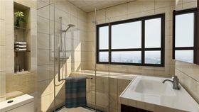 100平米三室两厅中式风格卫生间图