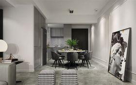 80平米法式风格餐厅效果图