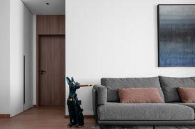 90平米三室兩廳現代簡約風格客廳欣賞圖