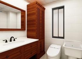 140平米三中式风格卫生间图片