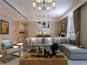 15-20万130平米四室两厅现代简约风格客厅装修案例