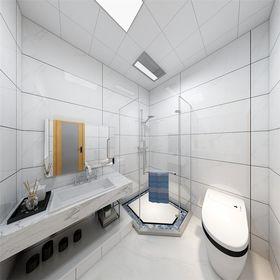 70平米现代简约风格卫生间欣赏图