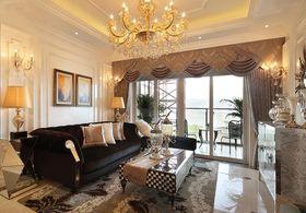 130平米三室两厅法式风格客厅欣赏图