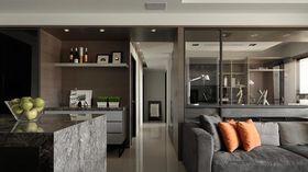 100平米三室一厅宜家风格书房装修案例