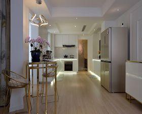 80平米公寓现代简约风格玄关设计图
