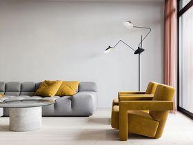 10-15萬80平米三室兩廳現代簡約風格客廳設計圖