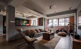 140平米复式混搭风格客厅图片大全