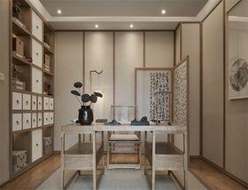 140平米四室两厅中式风格书房效果图