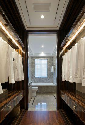 140平米三室两厅现代简约风格衣帽间鞋柜装修图片大全