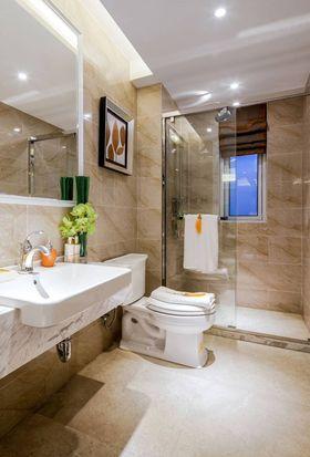 140平米四室一厅新古典风格卫生间设计图