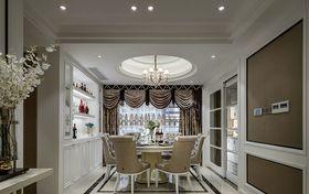 110平米三新古典风格餐厅装修图片大全