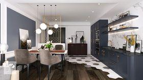120平米美式风格客厅欣赏图