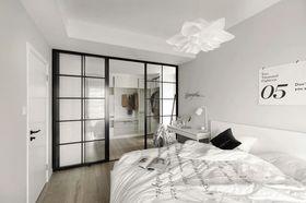 60平米一室两厅北欧风格卧室欣赏图