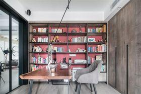 140平米三室两厅中式风格书房图片大全