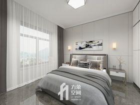 130平米三室两厅现代简约风格卧室效果图