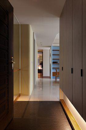 经济型90平米三室两厅现代简约风格走廊装修案例