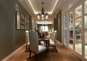 140平米三室两厅美式风格餐厅装修效果图