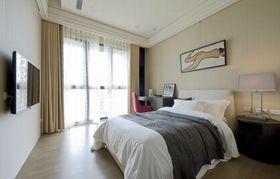 80平米三室两厅现代简约风格卧室效果图