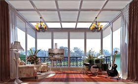 豪华型140平米别墅田园风格阳台图片大全