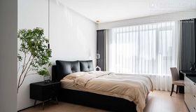 140平米三室兩廳現代簡約風格臥室裝修案例